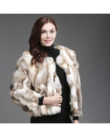 veste lapin femme