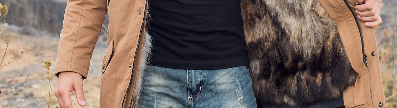 veste cuir homme- BLOUSONS HOMMES
