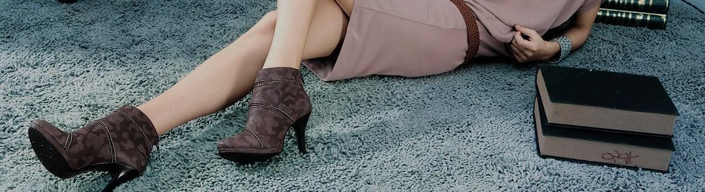 Sandales femme fourrure