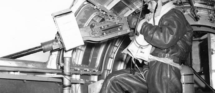 bombardier pilote mitrailleur blouson b-3