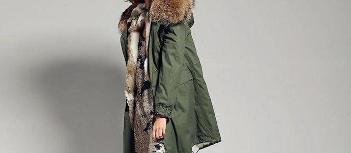 parka femme style urban cuir